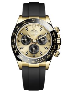Yellow Gold Rolex Daytona Ceramic
