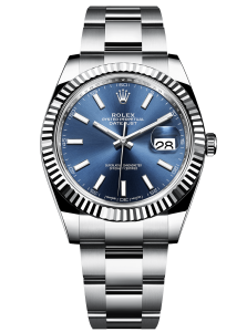 Rolex Datejust 41 in steel and white gold