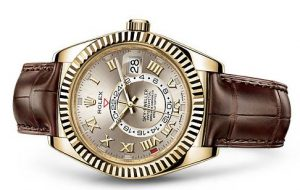 Rolex Sky-Dweller in Yellow Gold